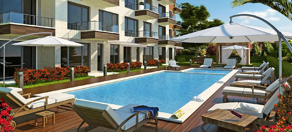 Современный гостинничный комплекс —Grand Hill Residence